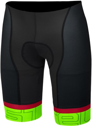 Castelli Volo short black/green men