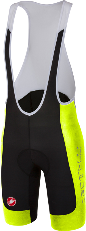 Castelli Evoluzione 2 bibshort black/yellow men