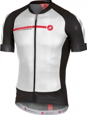 Castelli Aero race 5.1 jersey white/black/red men