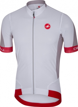 Castelli Volata 2 jersey white/red men