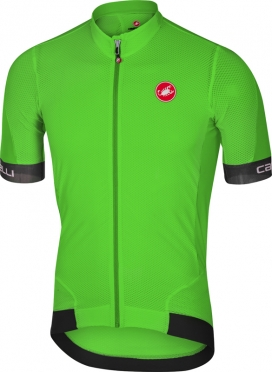 Castelli Volata 2 jersey green/black men