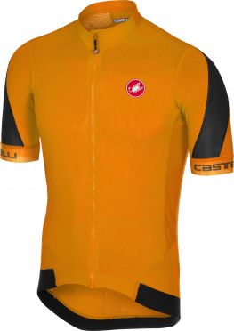 Castelli Volata 2 jersey orange/black men
