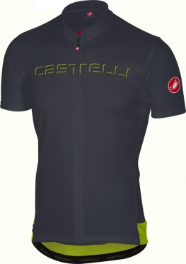 Castelli Prologo V jersey short sleeve anthracite men