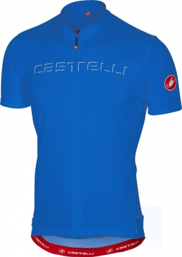 Castelli Prologo V jersey short sleeve blue men