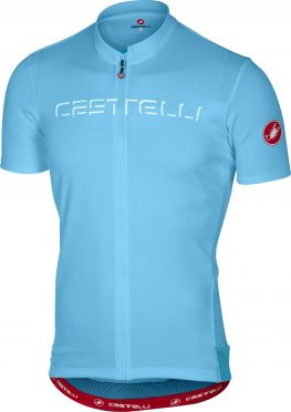 Castelli Prologo V jersey short sleeve light blue men