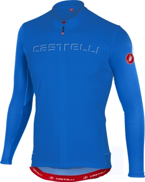 Castelli Prologo V jersey long sleeve blue men