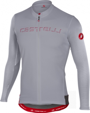 Castelli Prologo V jersey long sleeve gray men