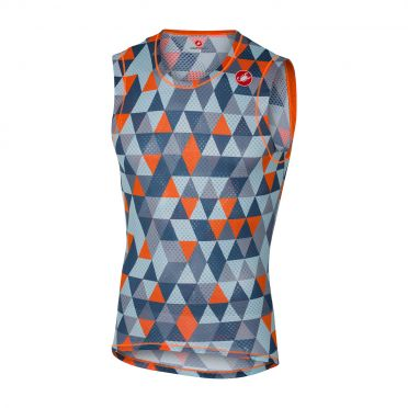 Castelli Pro mesh sleeveless baselayer multicolor blue men