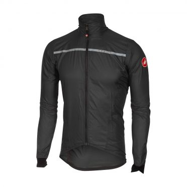 Castelli Superleggera jacket rainjacket anthracite men