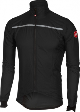 Castelli Superleggera wind jacket black men