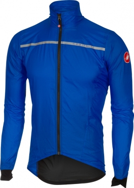 Castelli Superleggera wind jacket blue men