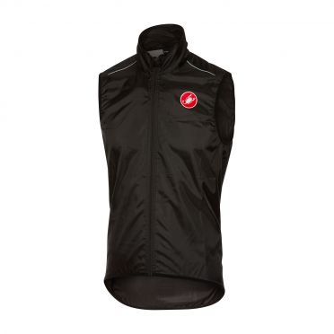 Castelli Squadra vest rainjacket black men