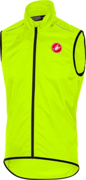 Castelli Squadra long vest yellow men
