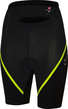Castelli Magnifica short black/yellow women