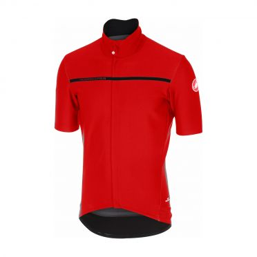 Castelli Gabba 3 short sleeve jersey red men
