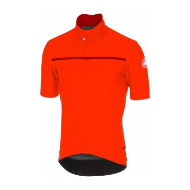Castelli Gabba 3 short sleeve jacket orange men