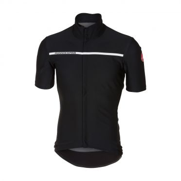 Castelli Gabba 3 short sleeve jacket light black men