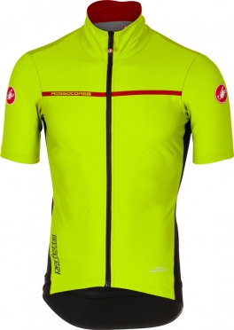 Castelli Perfetto light 2 short sleeve jersey yellow men