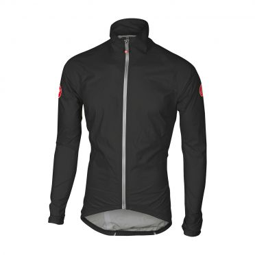 Castelli Emergengy rain jacket black men