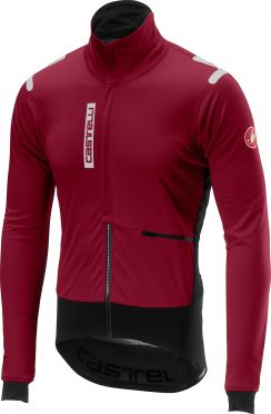 Castelli Alpha RoS jacket red/purple men