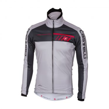 Castelli Velocissimo 2 jacket grey/anthracite men