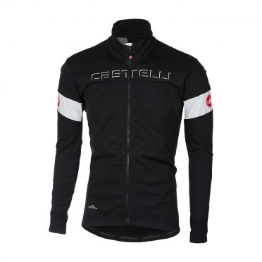 Castelli Transition jacket black/white men