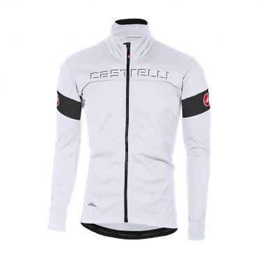 Castelli Transition jacket white/black men