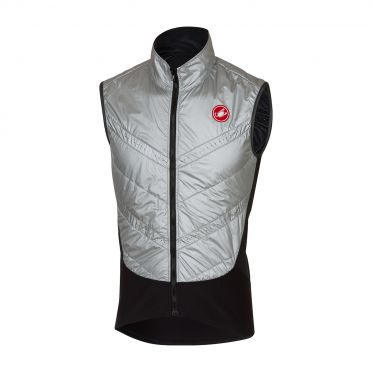 Castelli Core warmer vest silver men