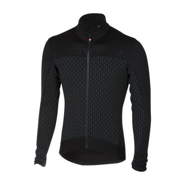 Castelli Sfida long sleeve jersey anthracite/black men