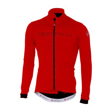 Castelli Fondo long sleeve jersey red men