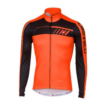 Castelli Velocissimo 2 long sleeve jersey orange/black men