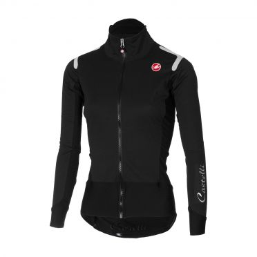 Castelli Alpha ros W long sleeve jersey black women