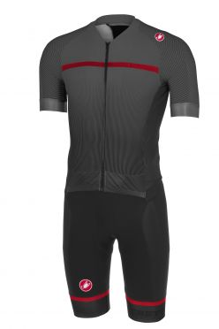 Castelli Sanremo 3.2 speedsuit short sleeve black men