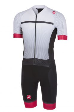Castelli Sanremo 3.2 speedsuit short sleeve white/black men