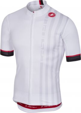 Castelli Podio doppio jersey white men