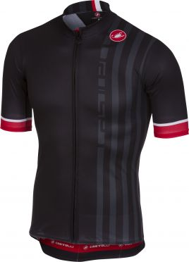 Castelli Podio doppio jersey black men