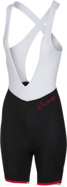 Castelli Vista bibshort black/red women