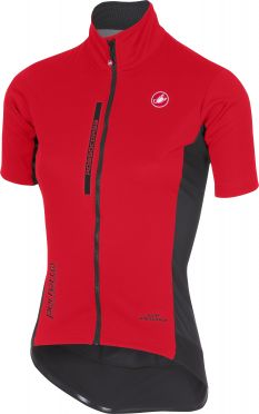Castelli Perfetto light W short sleeve jacket red women