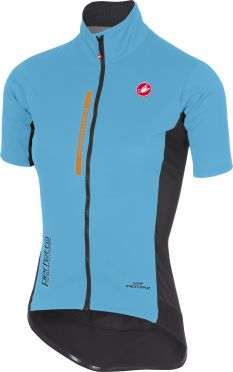 Castelli Perfetto light W short sleeve jacket blue women