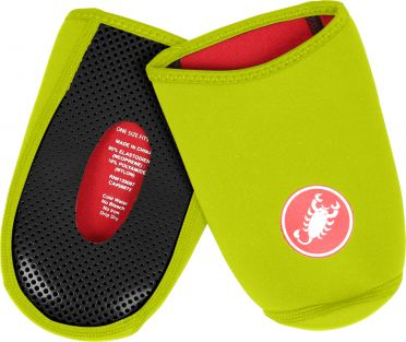 Castelli Toe thingy 2 yellow fluo men