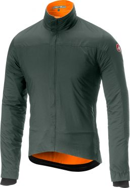 Castelli Elemento lite jacket forest gray men
