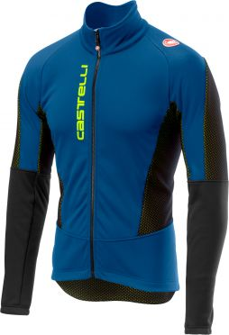 Castelli Mortirolo V jacket blue/black men