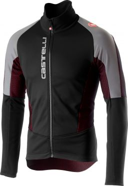 Castelli Mortirolo V reflex jacket black men