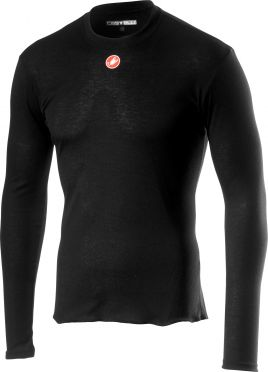 Castelli Prosecco R long sleeve baselayer black men