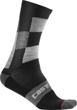 Castelli Diverso 2 18 sock black men