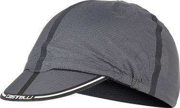 Castelli Ros cycling cap anthracite men