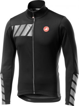 Castelli Raddoppia 2 jacket black/grey men