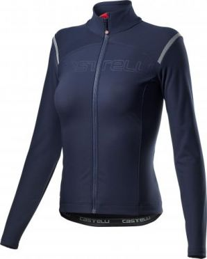Castelli tutto nano RoS jersey long sleeve blue woman