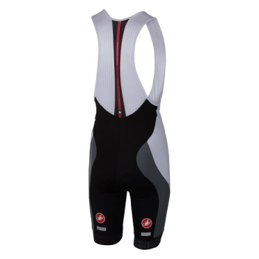 Castelli Velocissimo bibshort black/white men 16003-101
