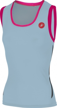 Castelli Alii run top blue/pink women